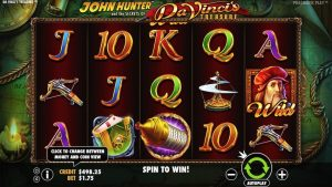 Da Vinci Treasures video slot