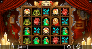 Play Curious Cabinet online slot at Dealers Casino