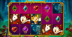 Alice Wonderland online slot casino game