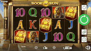 Book of Sun online slot casino game