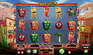 Chillipop online video slot