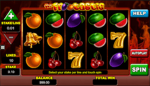 Hot Frootastic online slot casino game