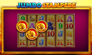 Jumbo Stampede online slot casino game